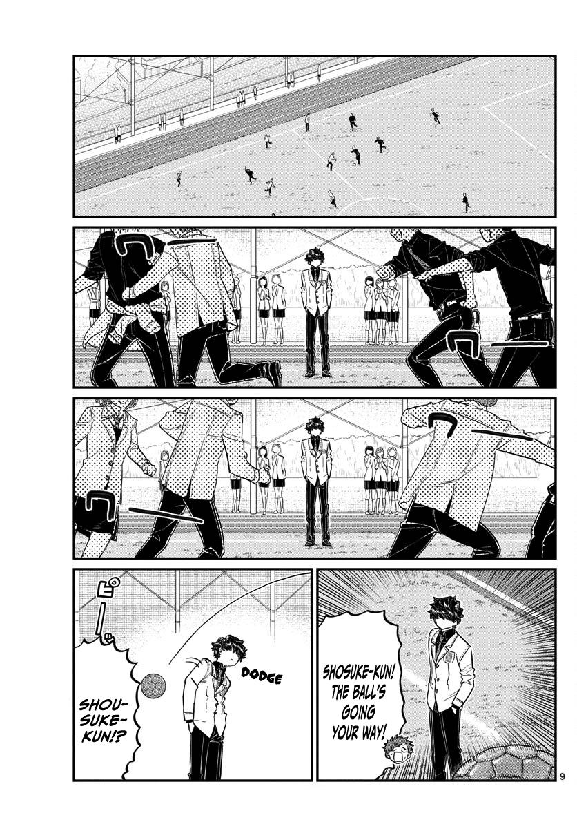 Komi-San Wa Komyushou Desu Vol.10 Chapter 143: Soccer page 9 - Mangakakalot