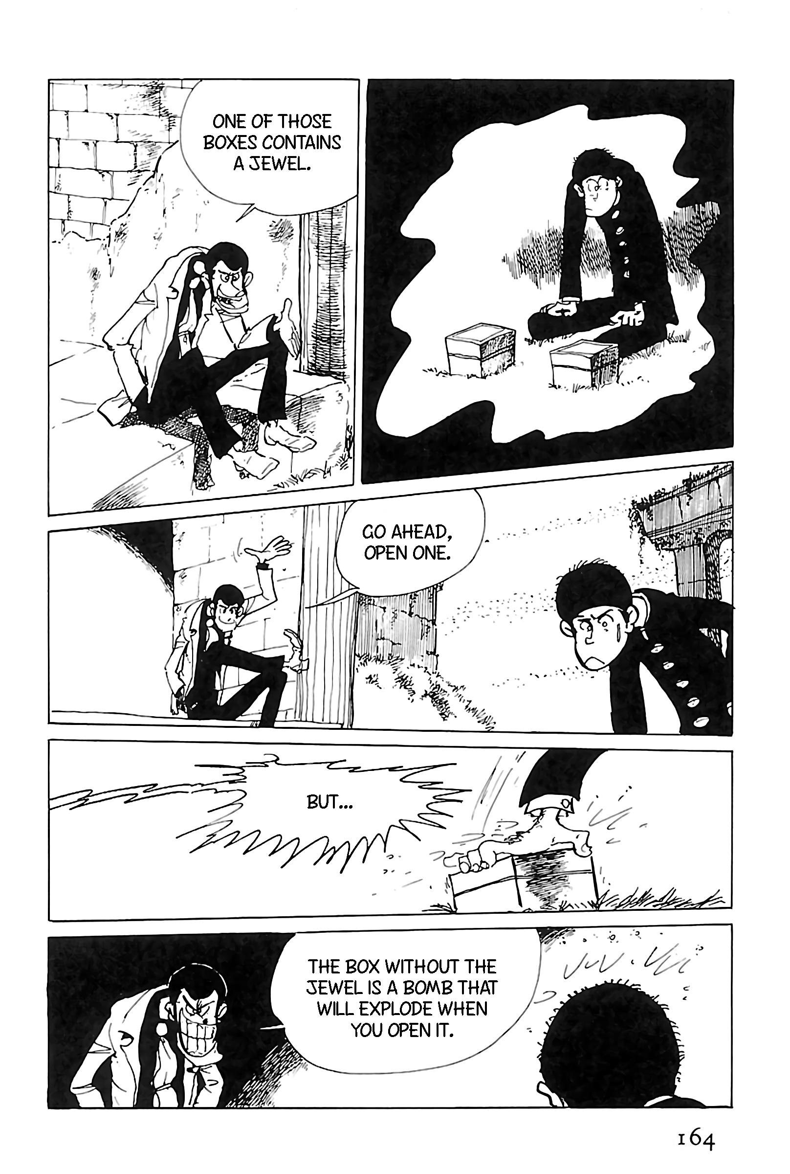 Lupin Iii: World'S Most Wanted Vol.11 Chapter 123: Regifting page 4 - Mangakakalots.com