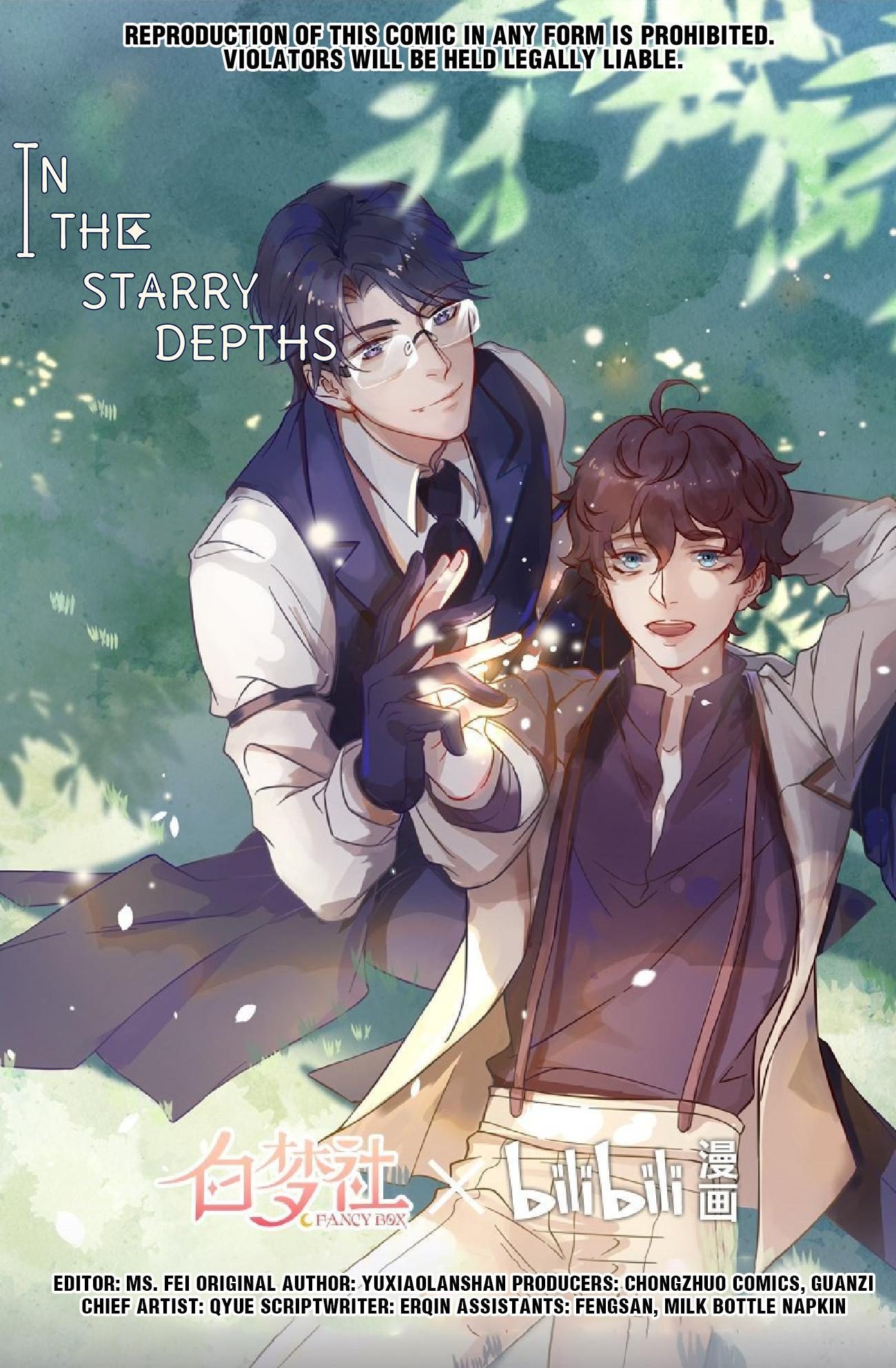 In The Starry Depths Chapter 25: I Don't Want To Part From You page 1 - Mangakakalots.com