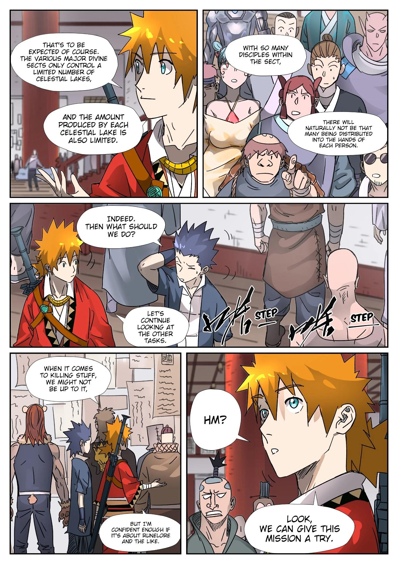 Tales Of Demons And Gods Chapter 306.5: Getting To Know The New Classmates (Part 2) page 9 - Mangakakalots.com