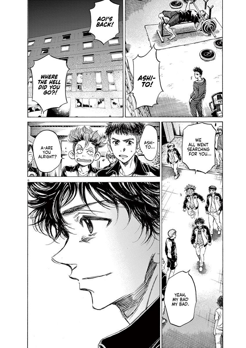 Ao Ashi Vol.7 Chapter 65: Returning To The Dorms page 6 - Mangakakalots.com
