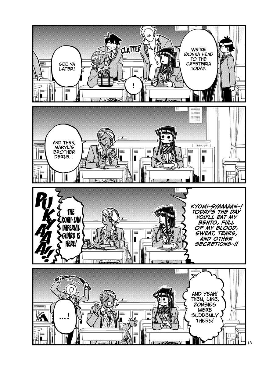Komi-San Wa Komyushou Desu Chapter 298 page 13 - Mangakakalot