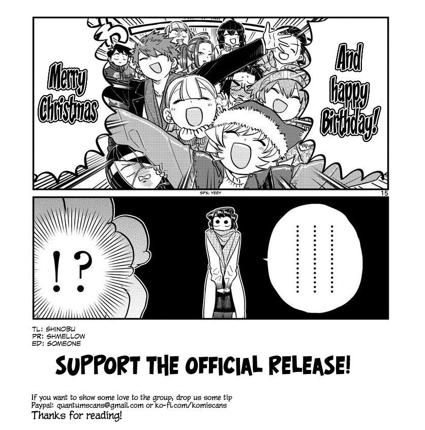 Komi-San Wa Komyushou Desu Chapter 232: Secret page 19 - Mangakakalot