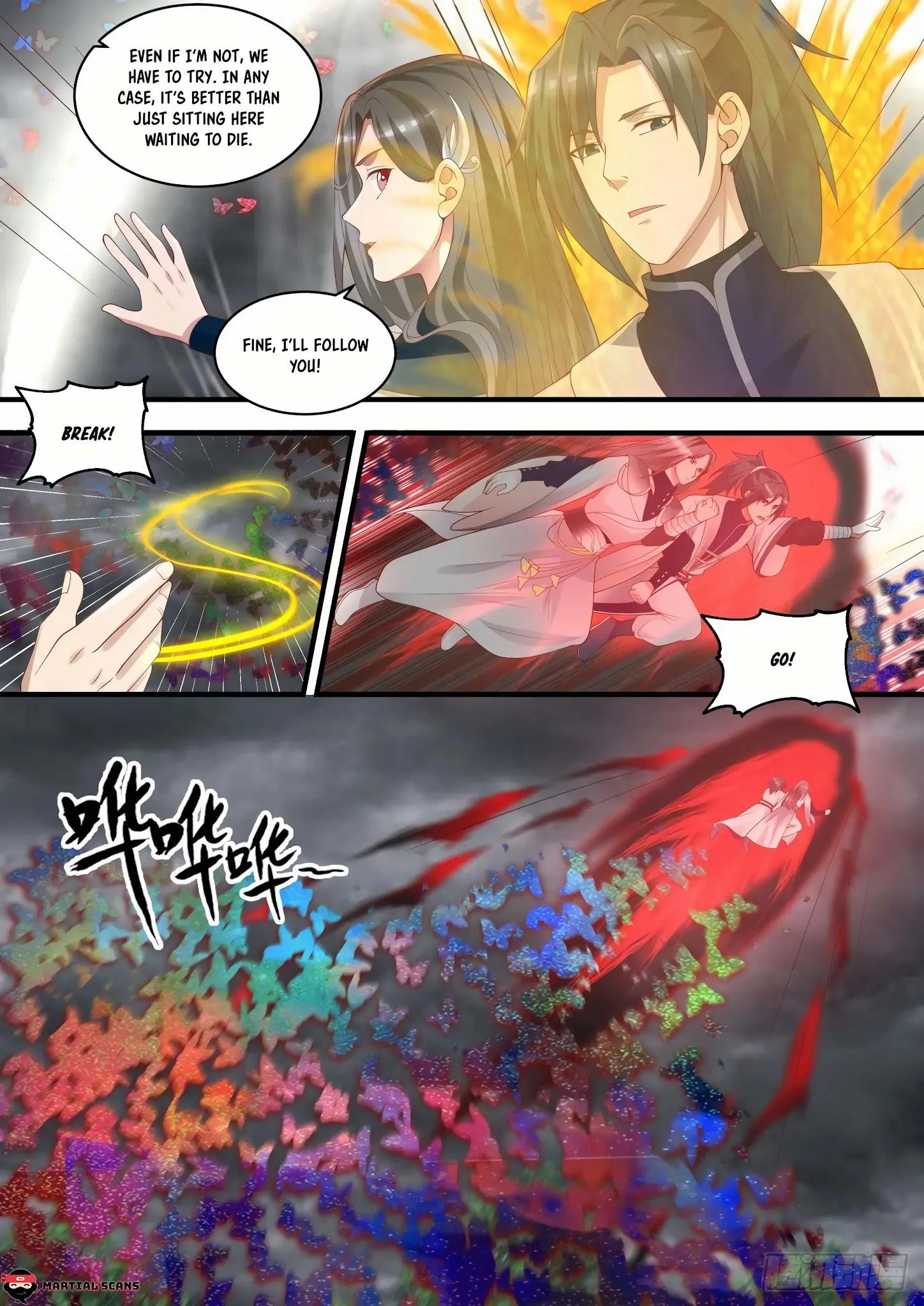 Martial Peak Chapter 1457: Illusionary Void Butterfly page 10 - Mangakakalots.com