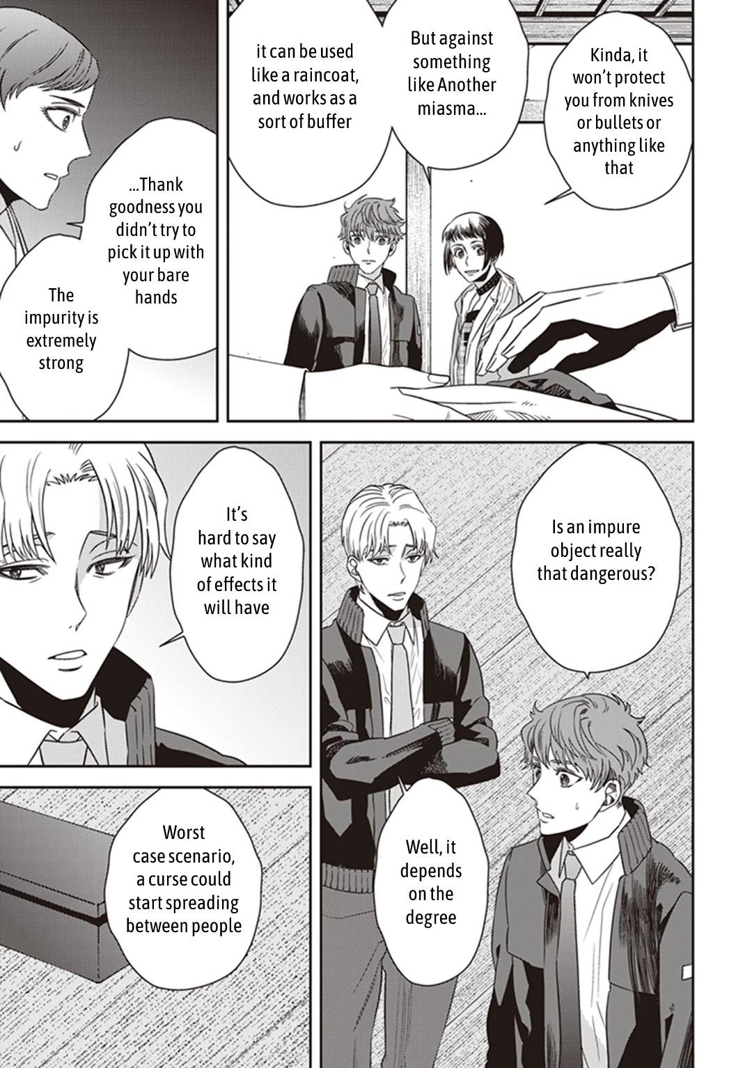 Midnight Occult Civil Servants Chapter 38: Becoming A Demon (Part 4) page 29 - Mangakakalots.com