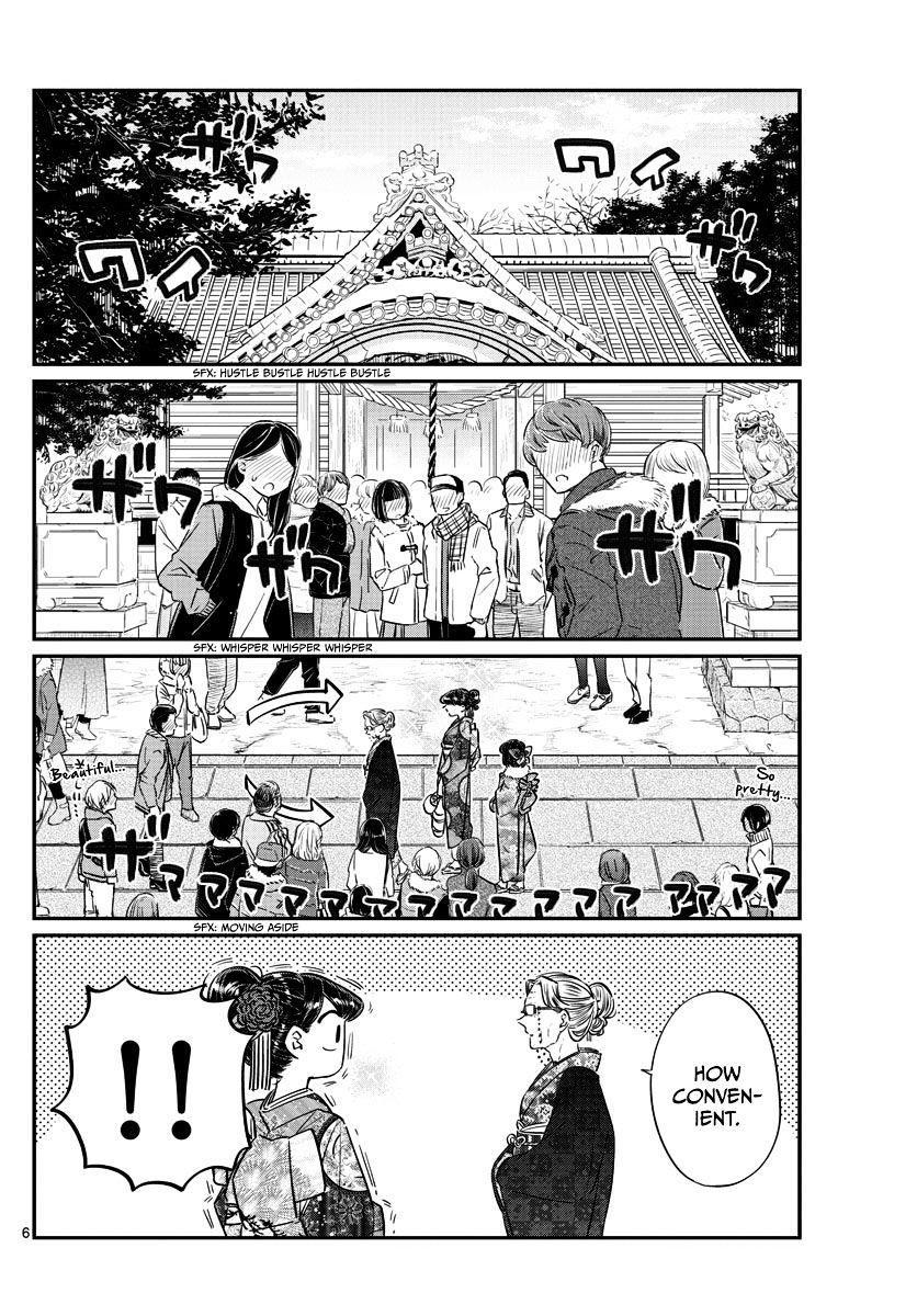 Komi-San Wa Komyushou Desu Vol.7 Chapter 92: It's New Year's page 6 - Mangakakalot