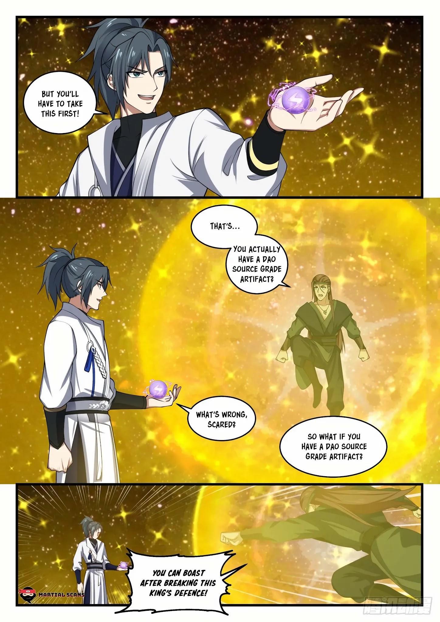 Martial Peak Chapter 1555: Arrived At The Star Boundary page 2 - Mangakakalots.com