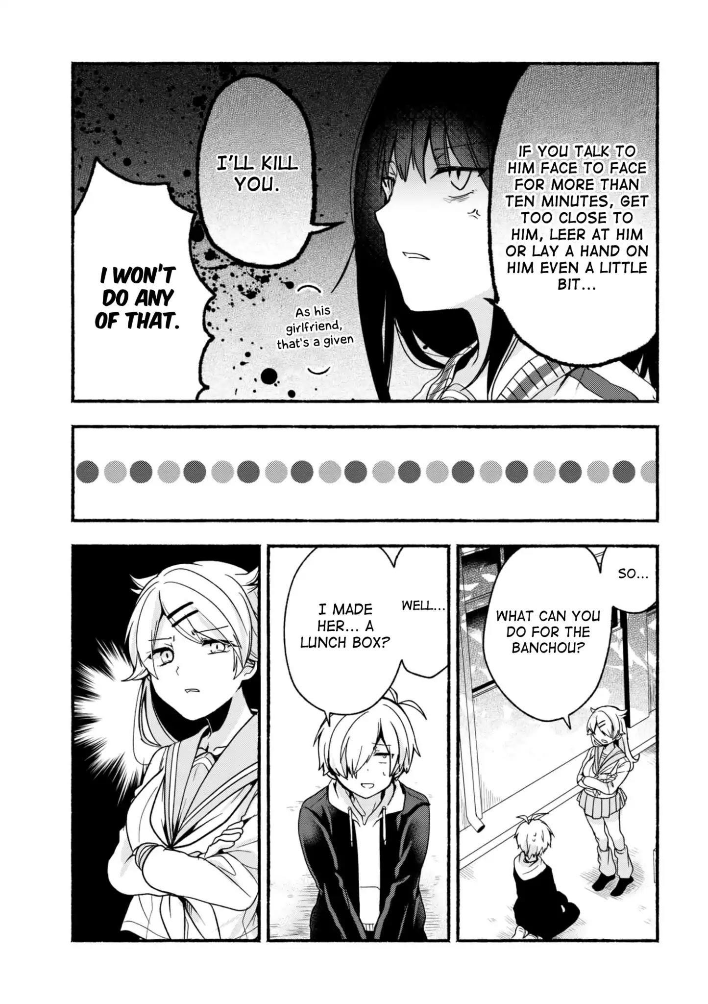 Pashiri Na Boku To Koi Suru Banchou-San Chapter 5 page 6 - Mangakakalots.com