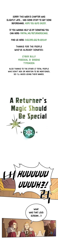 A Returner's Magic Should Be Special Chapter 53 page 1 - Mangakakalots.com
