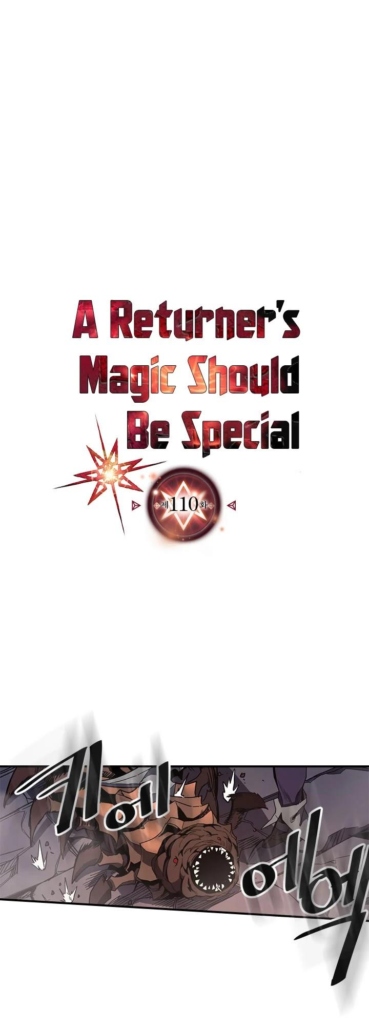 A Returner's Magic Should Be Special Chapter 110 page 2 - Mangakakalots.com