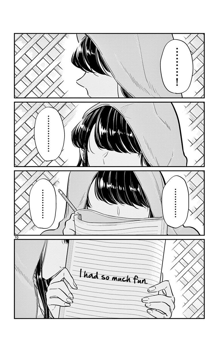 Komi-San Wa Komyushou Desu Vol.3 Chapter 40: Just A Graze page 10 - Mangakakalot