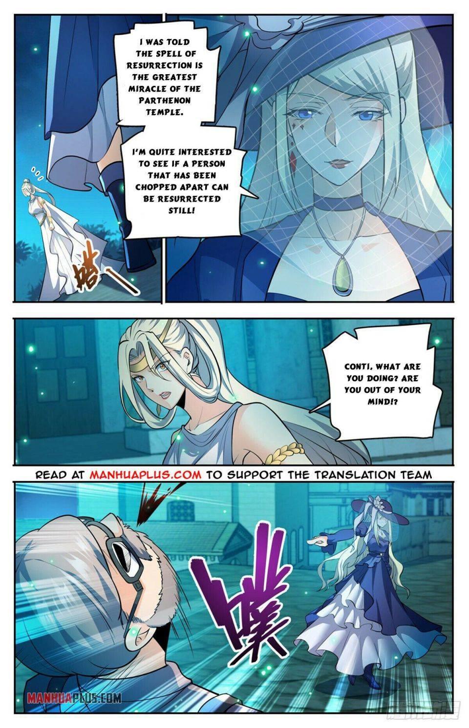 Versatile Mage Chapter 754 page 9 - Mangakakalot