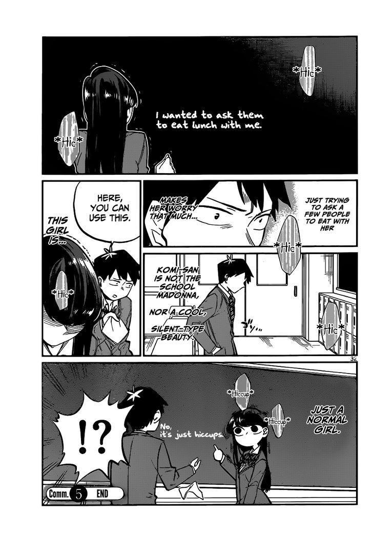 Komi-San Wa Komyushou Desu Vol.1 Chapter 5: I Want To Chat page 8 - Mangakakalot