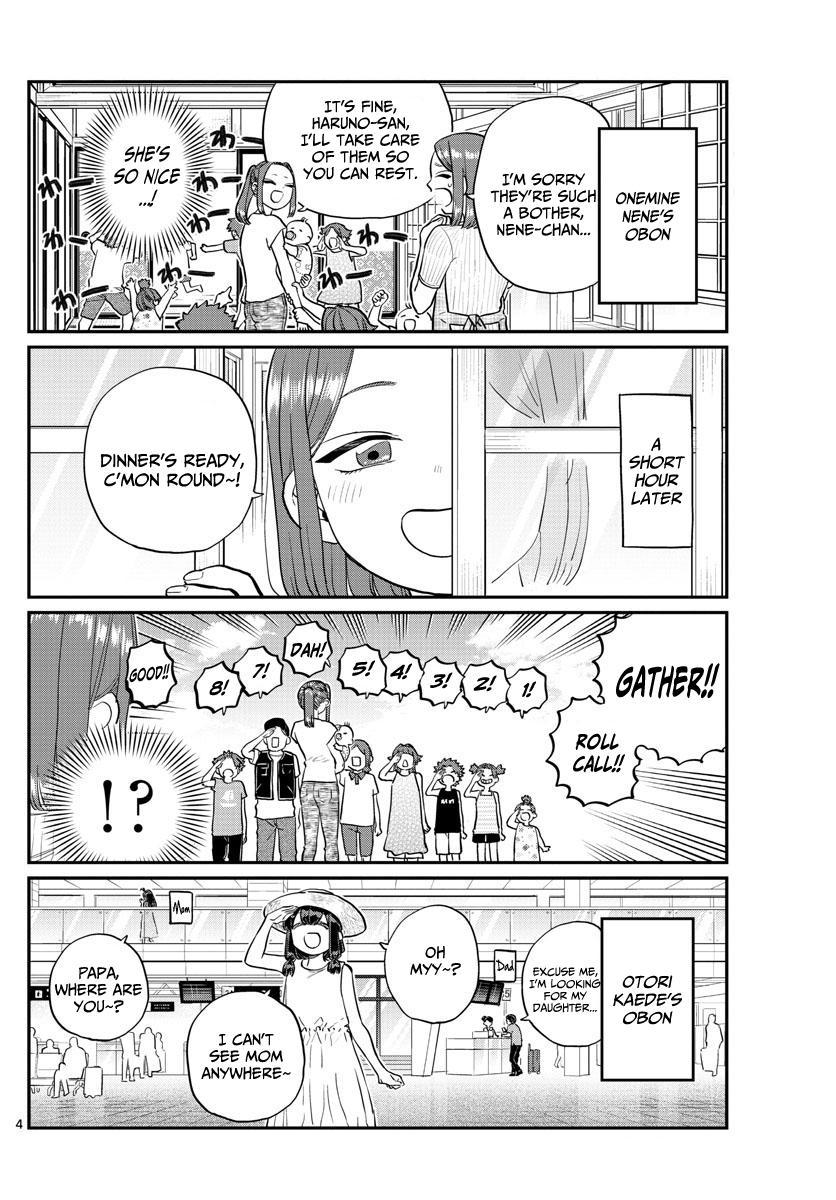 Komi-San Wa Komyushou Desu Vol.13 Chapter 186: Everyone's Obon page 4 - Mangakakalot