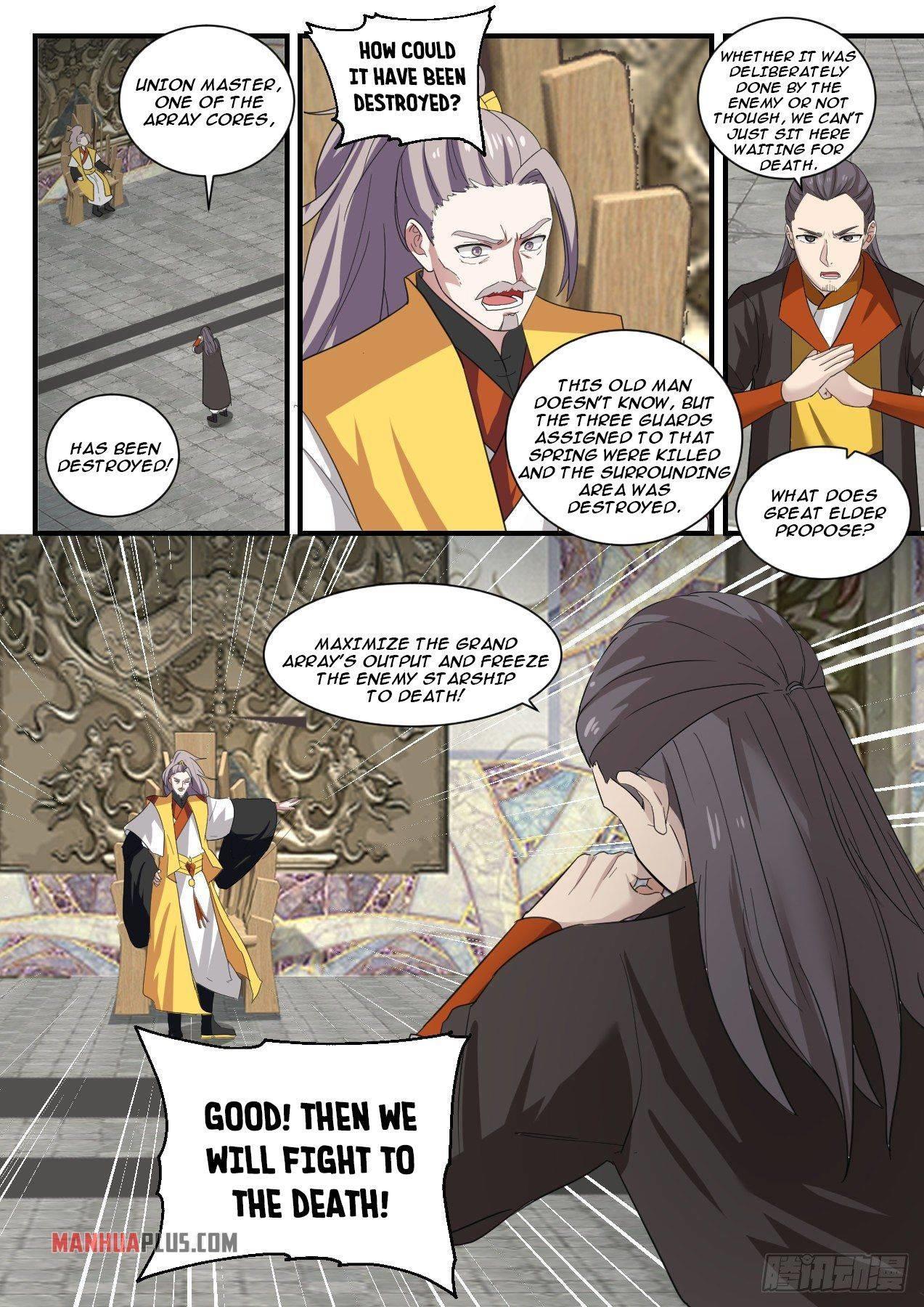 Martial Peak Chapter 1346 page 13 - Mangakakalots.com