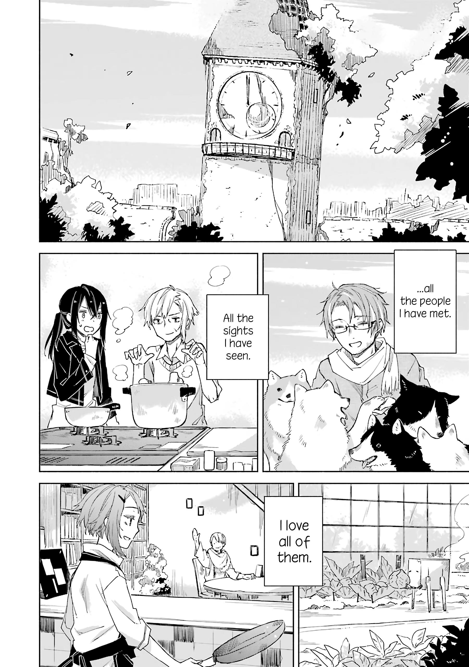 Our Lives After The Apocalypse Vol.3 Chapter 17: Final Chapter: A Journey, A Meal, And The End Of The World ~Our Lives After The Apocalypse~ page 18 - Mangakakalots.com