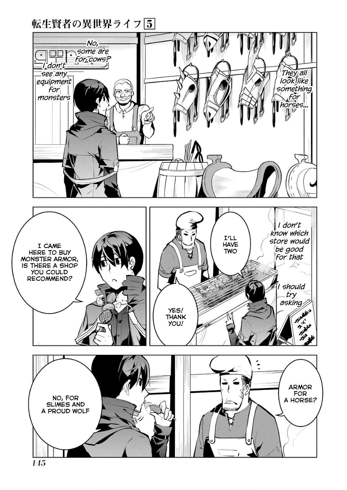 Tensei Kenja No Isekai Raifu ~Daini No Shokugyo Wo Ete, Sekai Saikyou Ni Narimashita~ Vol.5 Chapter 15: I Was Being Pursued page 21 - Mangakakalots.com