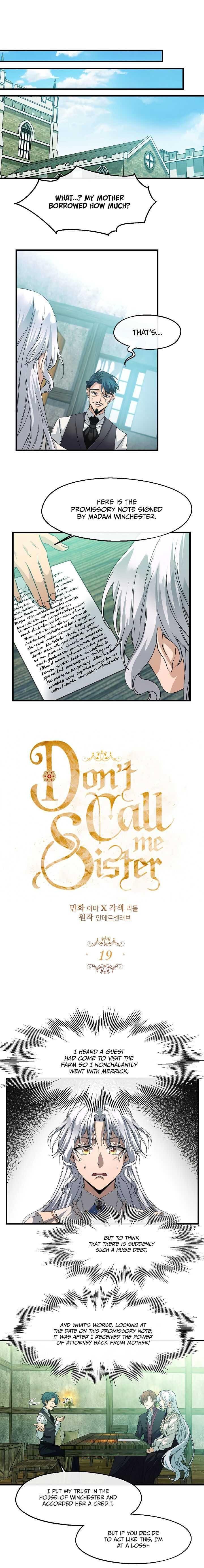 Don'T Call Me Sister Chapter 19 page 2 - Mangakakalots.com