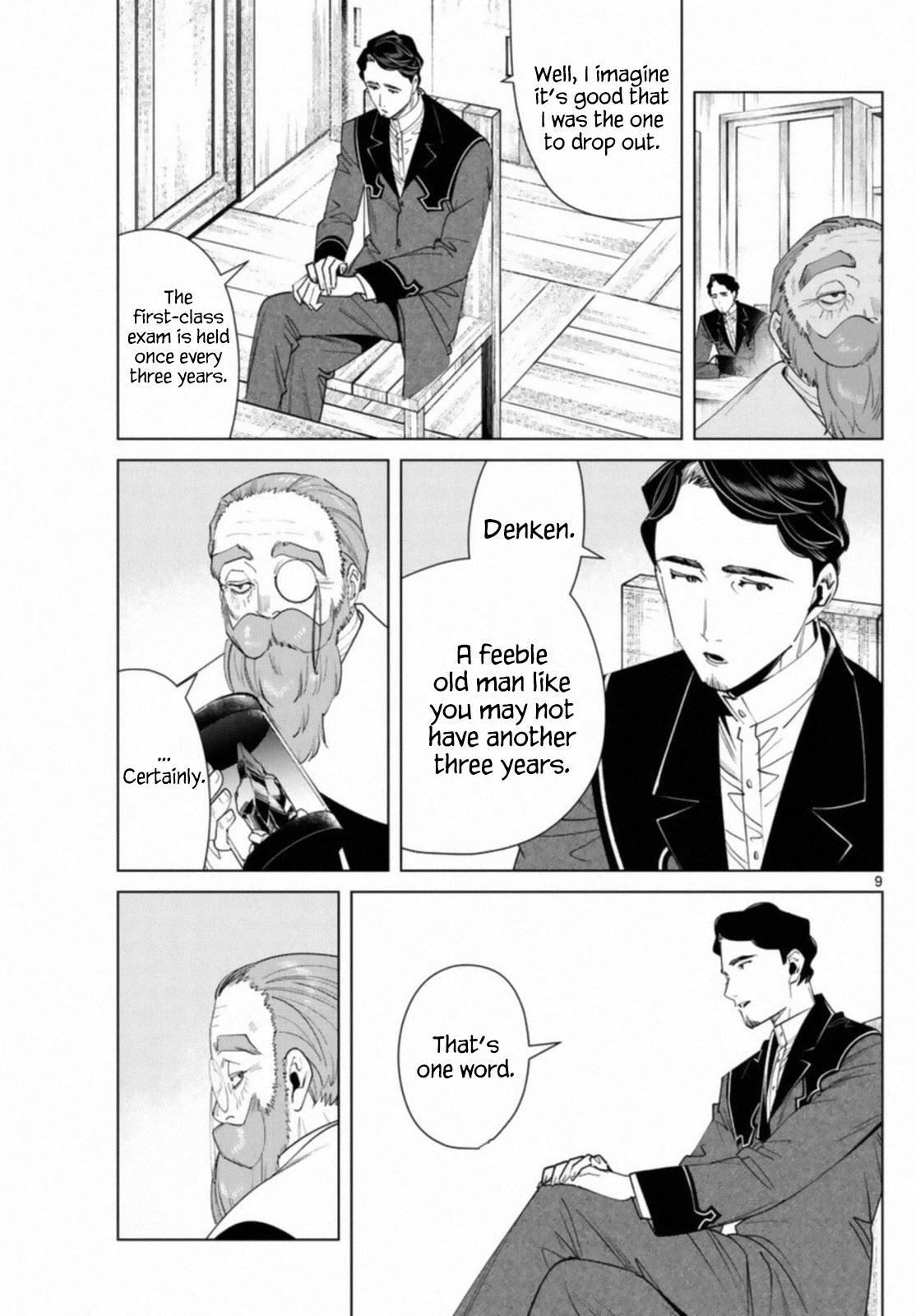 Sousou No Frieren Chapter 56 page 9 - Mangakakalots.com