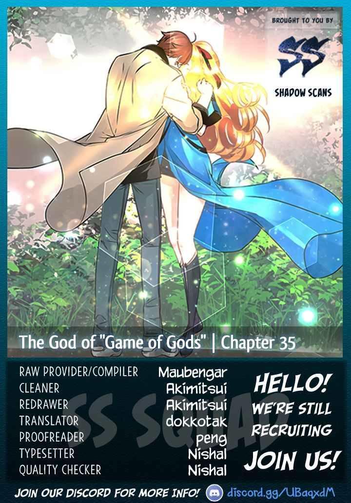 "The God Of ""Game Of God"" Chapter 35 page 1 - Mangakakalot"