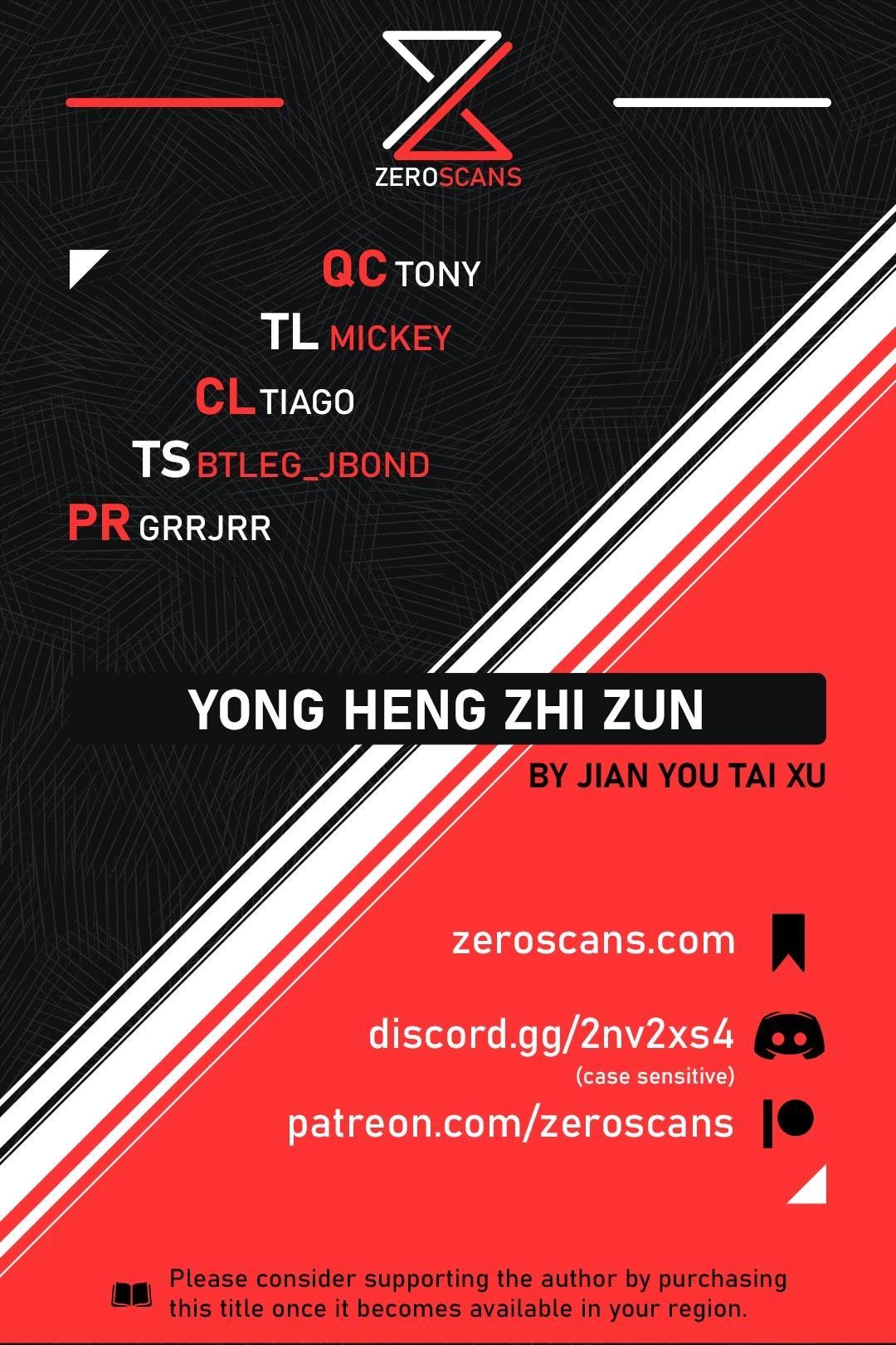 Yong Heng Zhi Zun Chapter 281 page 1 - Mangakakalots.com