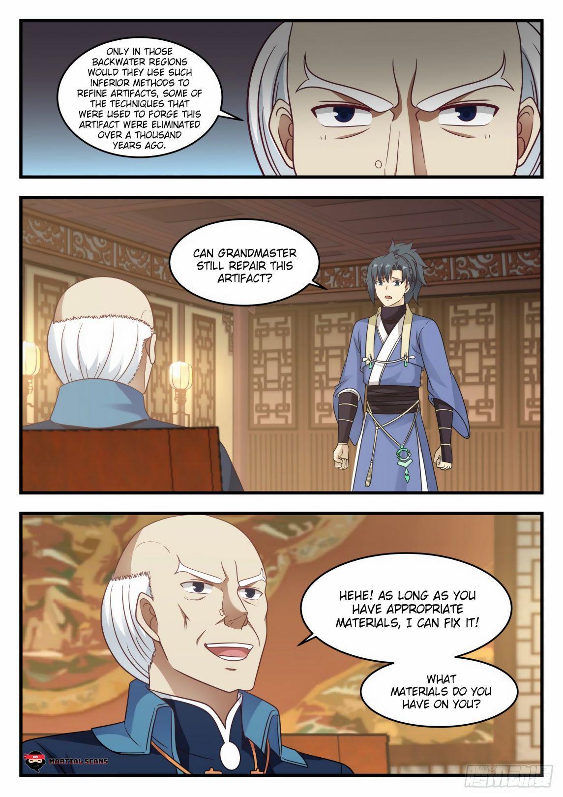 Martial Peak Chapter 592 page 6 - Mangakakalots.com