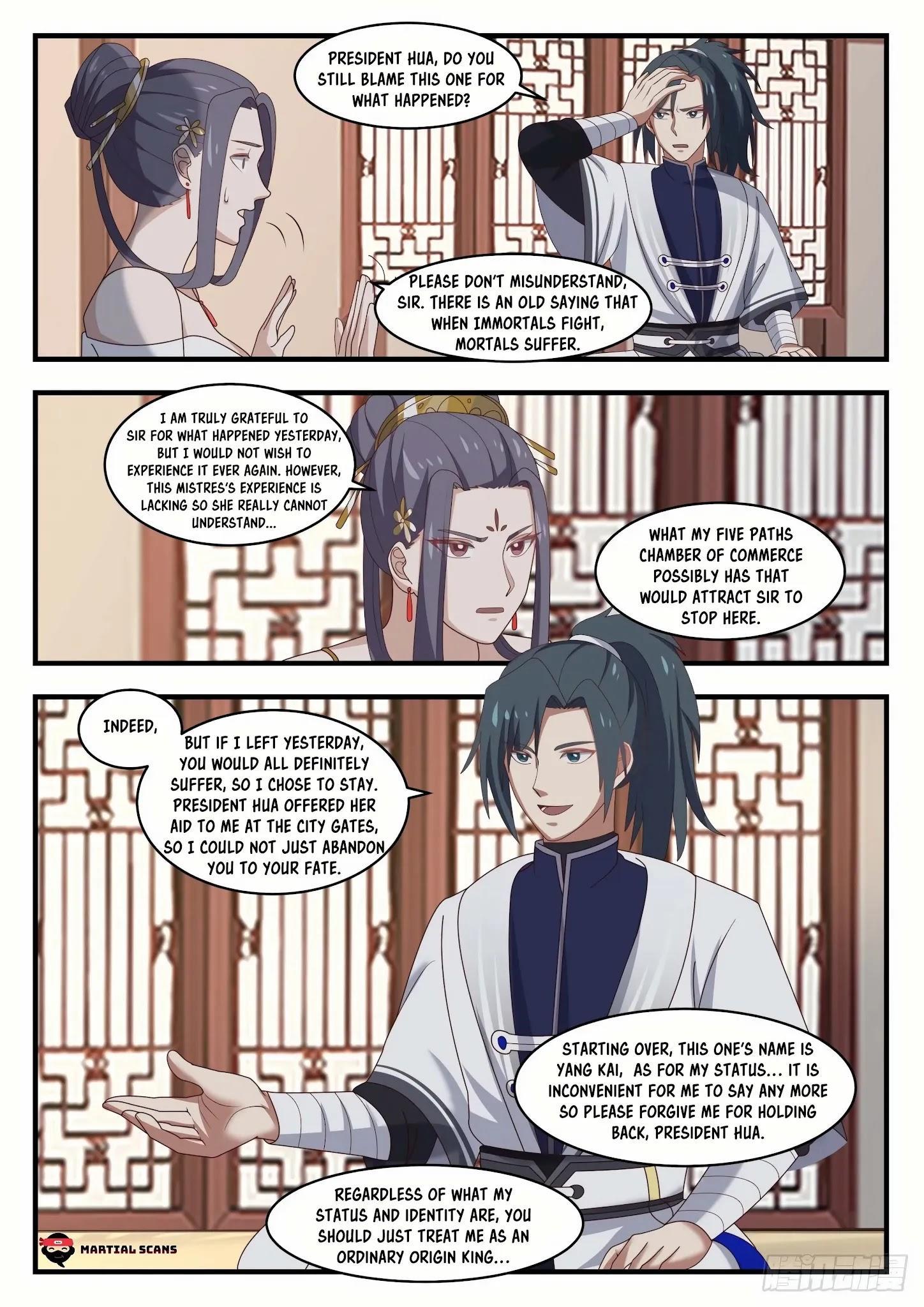 Martial Peak Chapter 1505: Purple Star Order page 11 - Mangakakalots.com