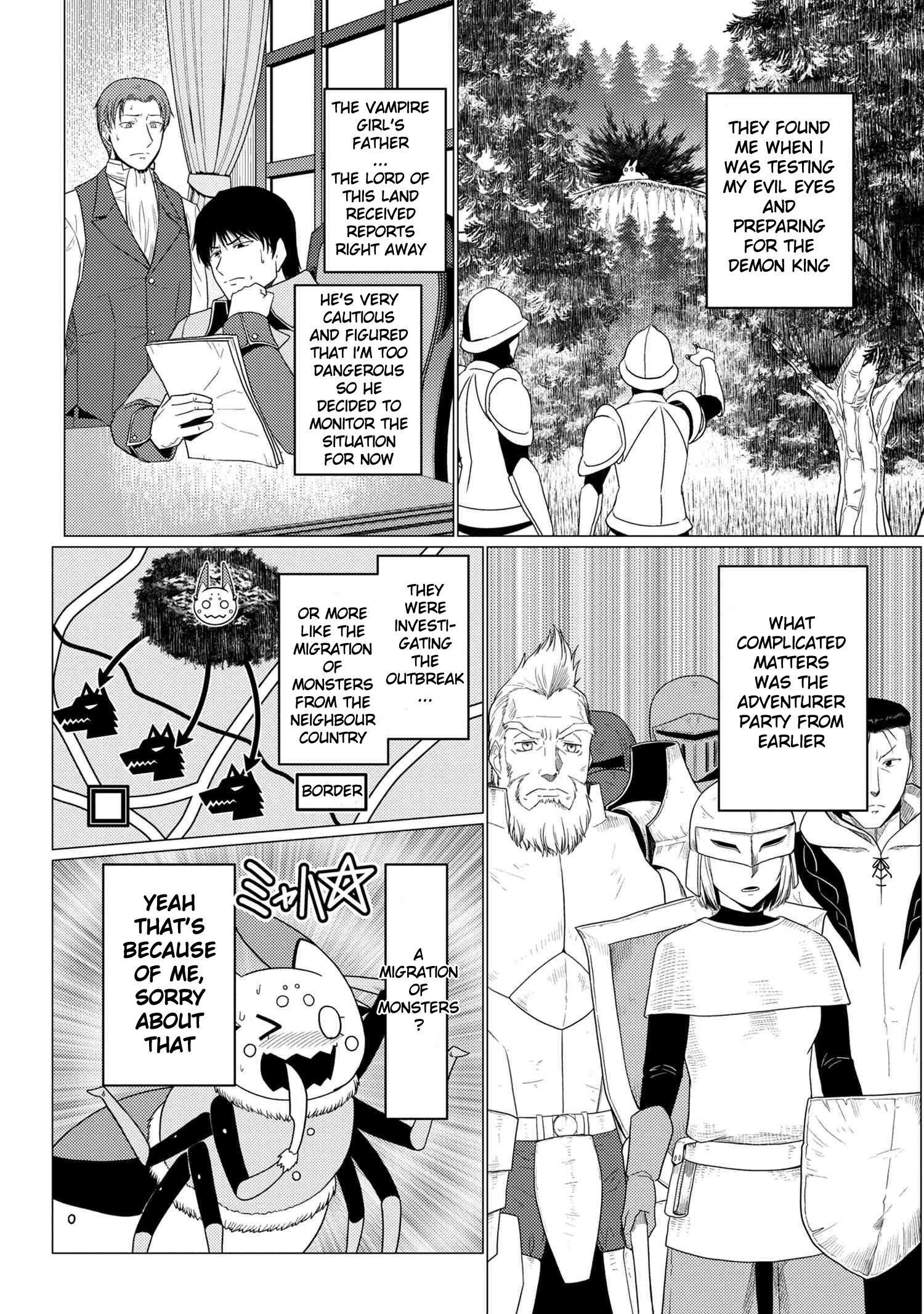 Kumo Desu Ga, Nani Ka? Chapter 50.1 page 3 - Mangakakalots.com