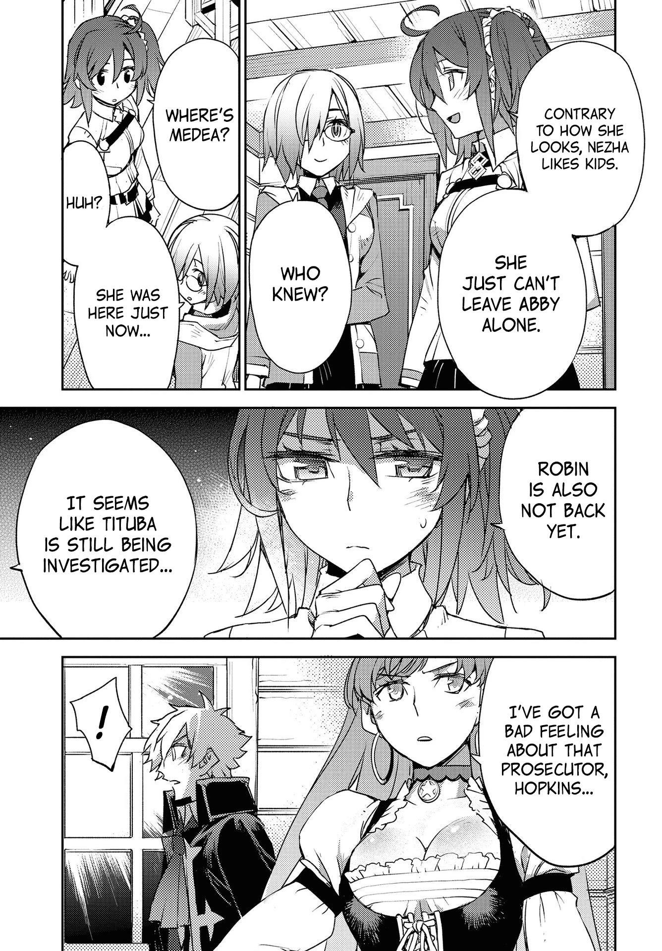 Fate/grand Order: Epic Of Remnant - Subspecies Singularity Iv: Taboo Advent Salem: Salem Of Heresy Chapter 8: Unknot: Before Dawn 7 page 17 - Mangakakalots.com
