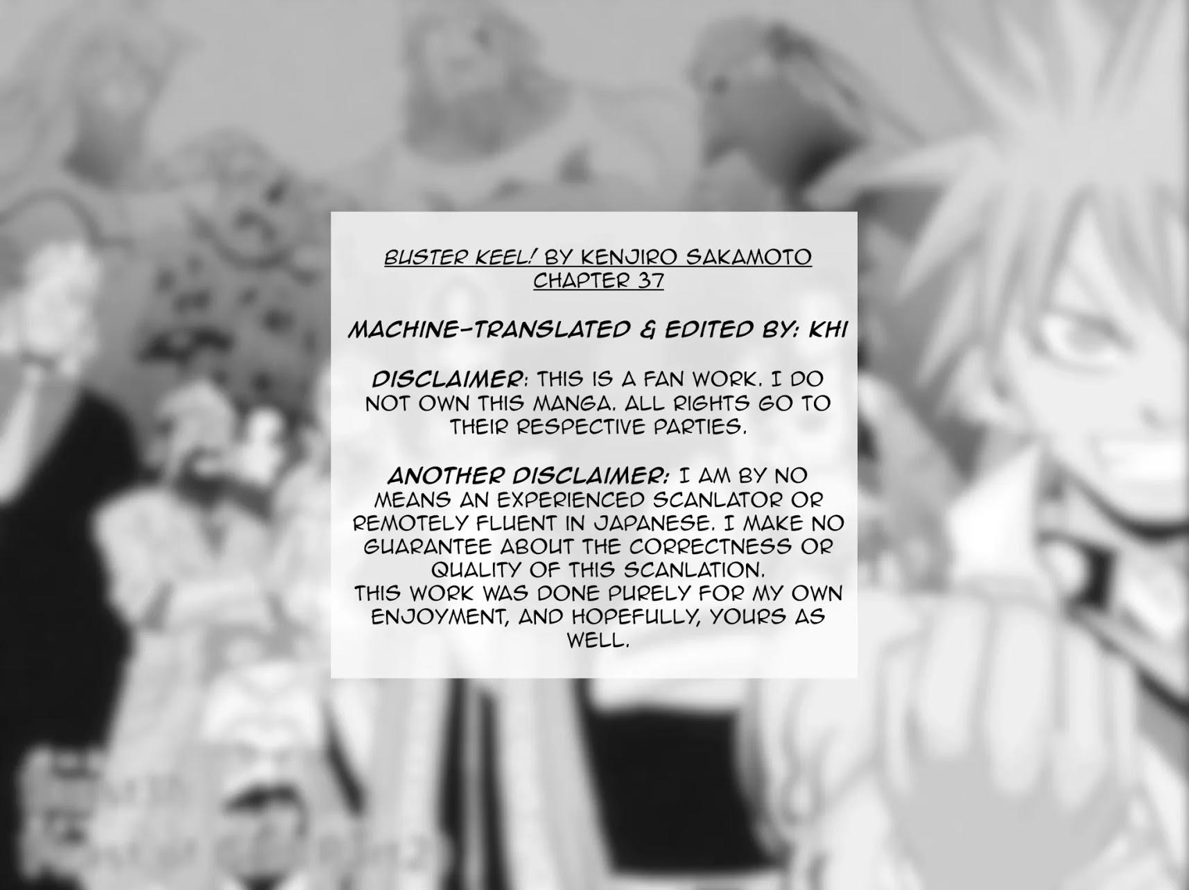 Buster Keel! Chapter 37: Feast Of God (Part 2) page 3 - Mangakakalots.com