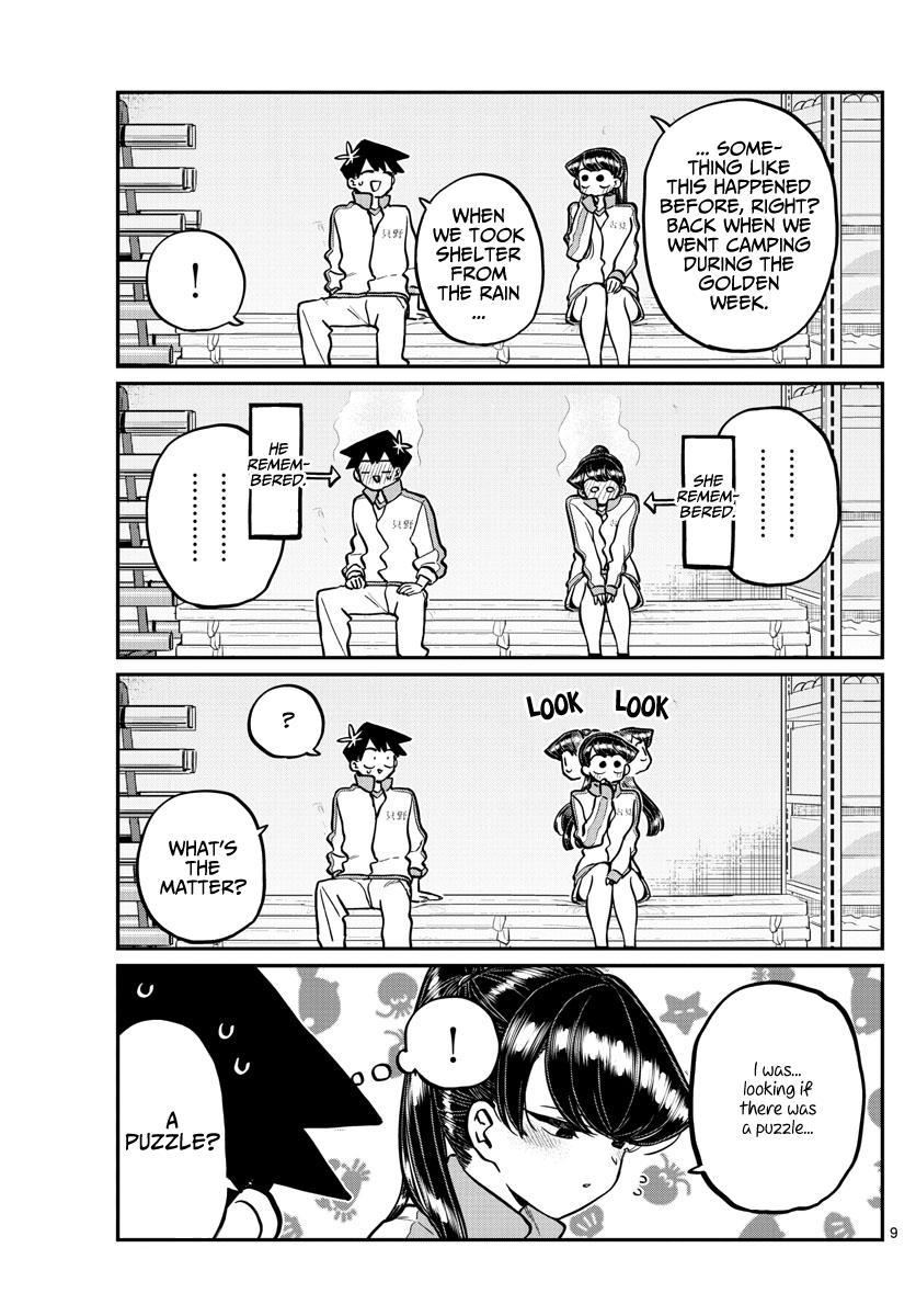 Komi-San Wa Komyushou Desu Chapter 246: Gymnasium Storage page 9 - Mangakakalot