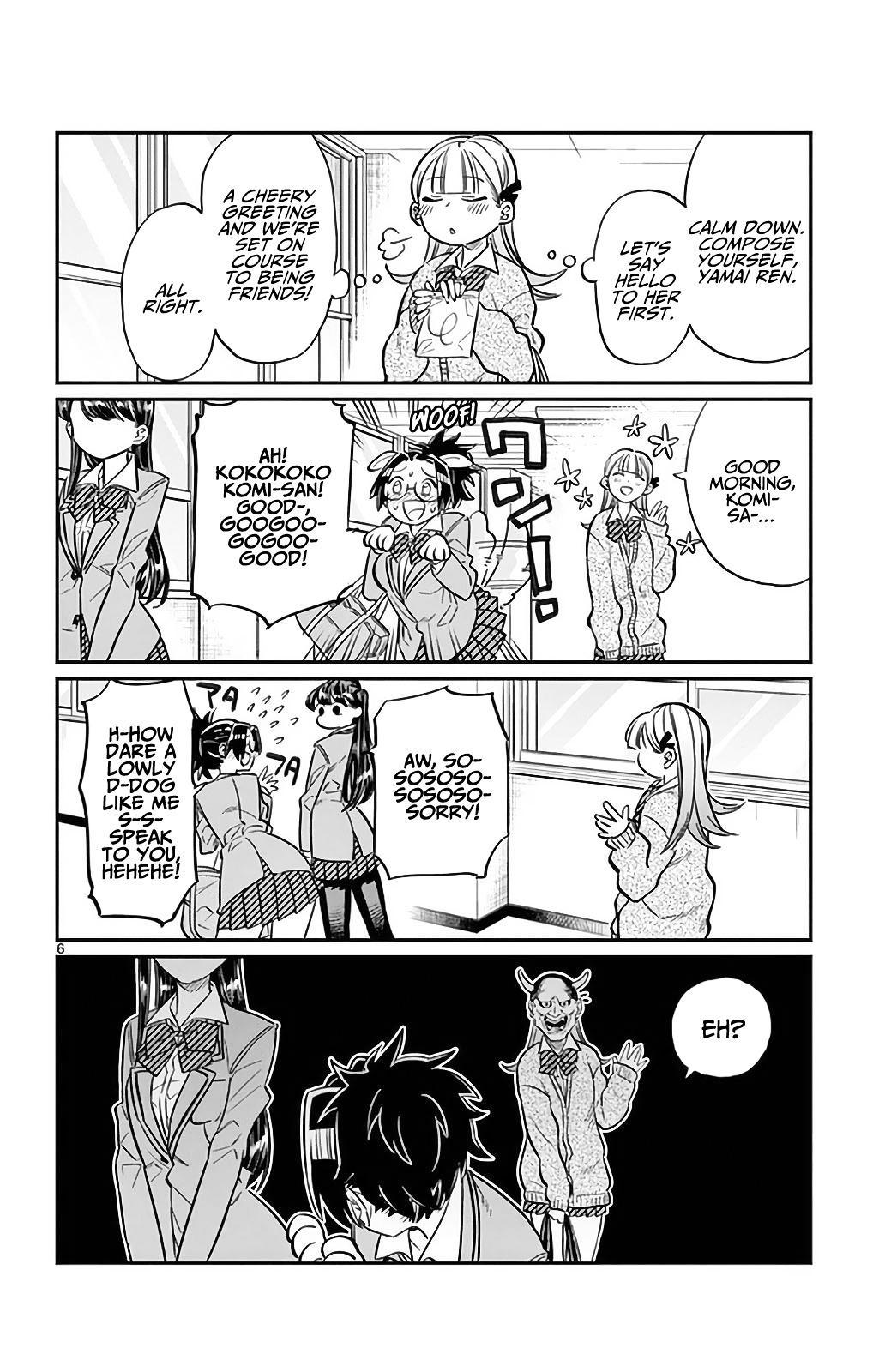 Komi-San Wa Komyushou Desu Vol.2 Chapter 23: I'm Ren! page 6 - Mangakakalot