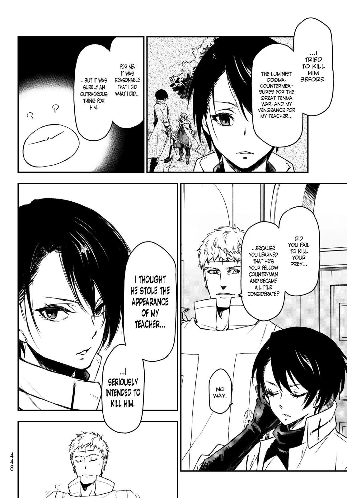 Tensei Shitara Slime Datta Ken Chapter 87: God's Right Hand page 38 - Mangakakalots.com