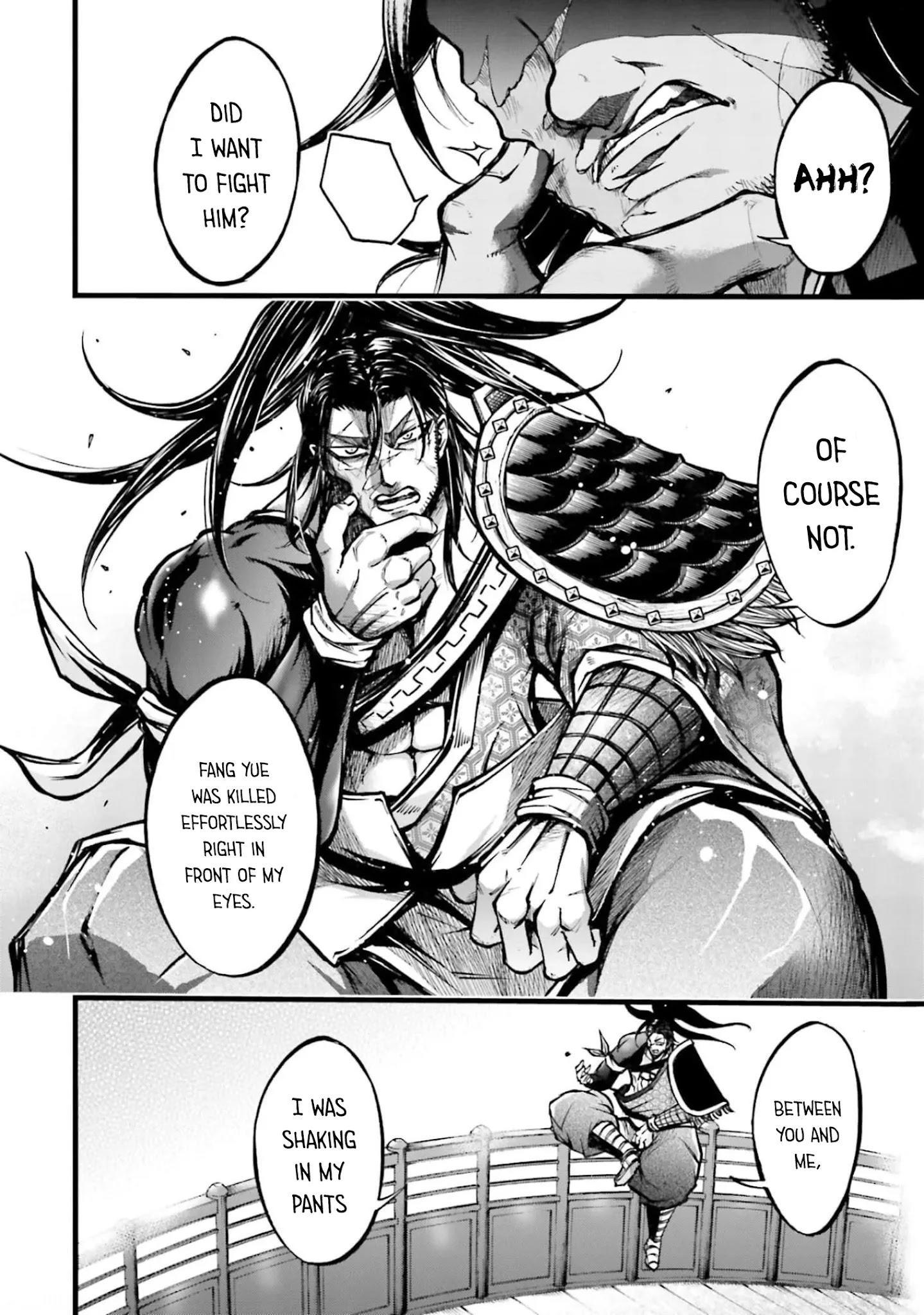 Shuumatsu No Valkyrie: The Legend Of Lu Bu Fengxian Chapter 8 page 33 - Mangakakalots.com