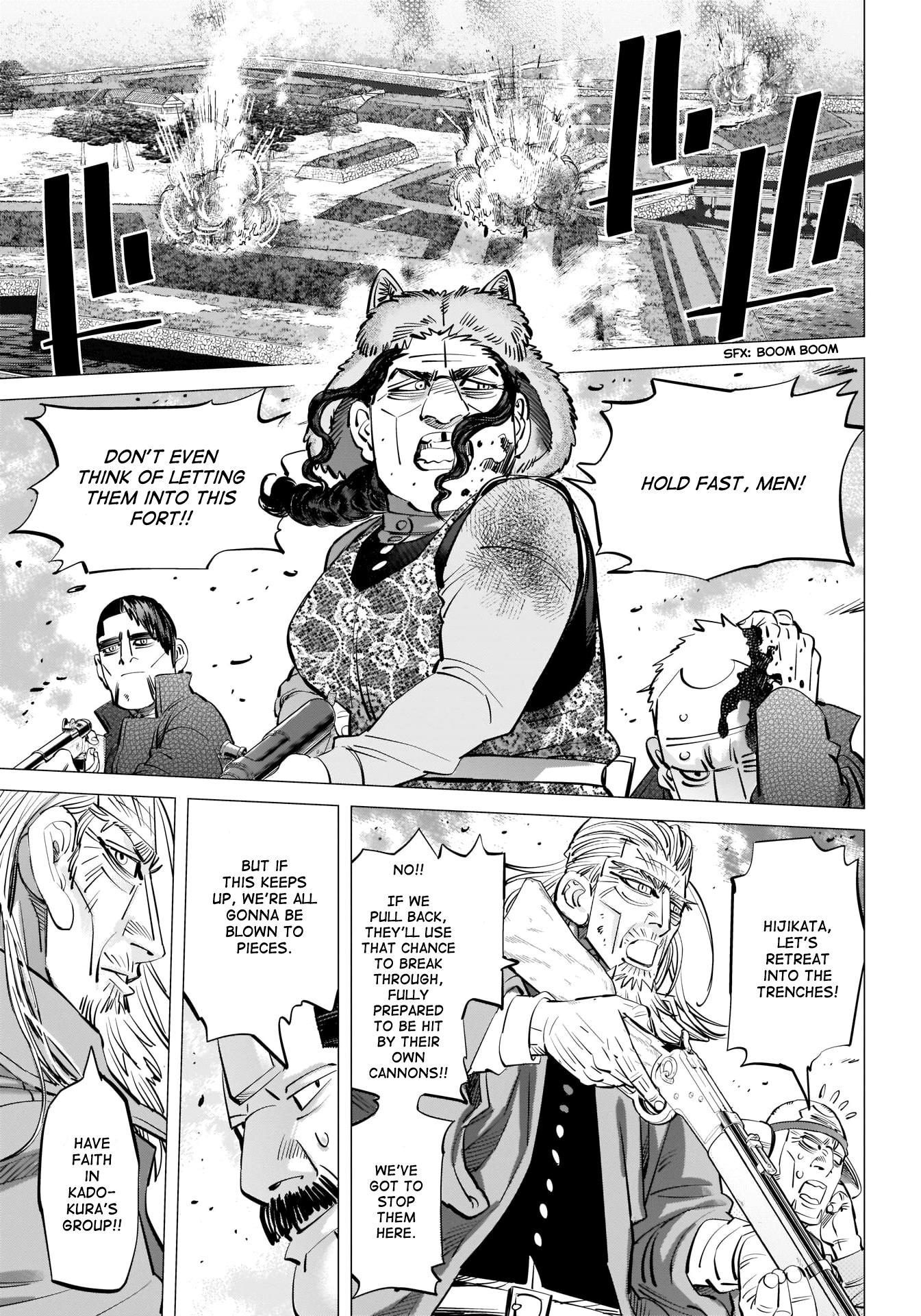 Golden Kamui Chapter 290: The Statue Of Kannon page 16 - Mangakakalots.com