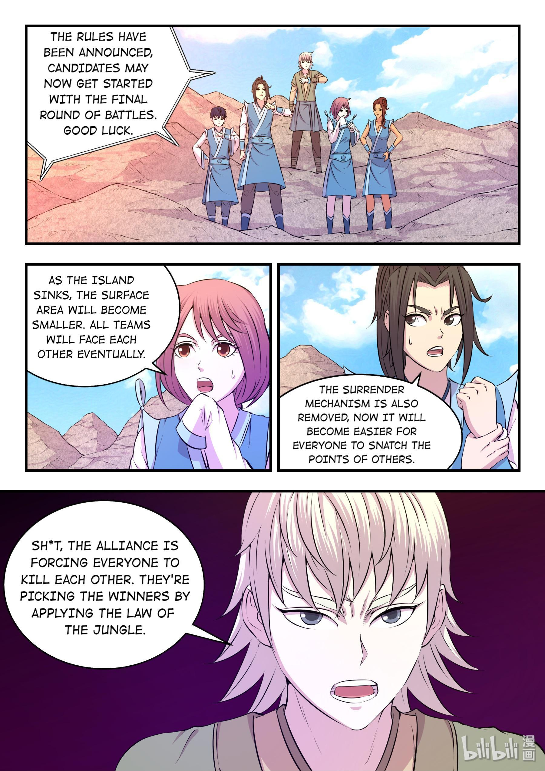 The All-Devouring Whale Chapter 31: The Final Stage page 19 - Mangakakalots.com