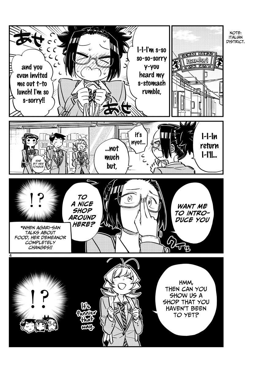 Komi-San Wa Komyushou Desu Vol.5 Chapter 61: Gourmet With Everyone page 4 - Mangakakalot