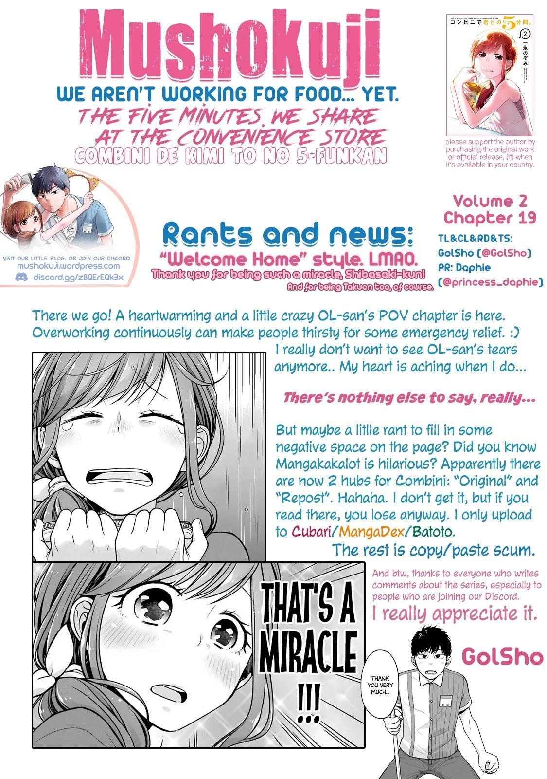 5 Minutes With You At A Convenience Store Chapter 19 page 11 - Mangakakalots.com