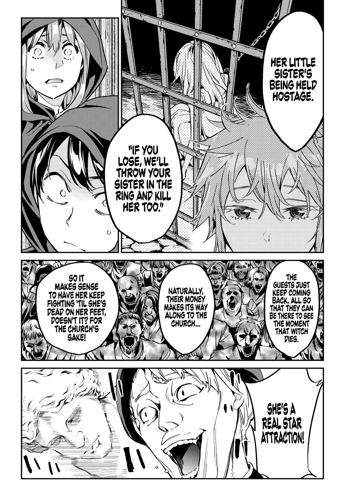 Tricks Dedicated To Witches Chapter 12: The Captive Witch page 10 - Mangakakalots.com