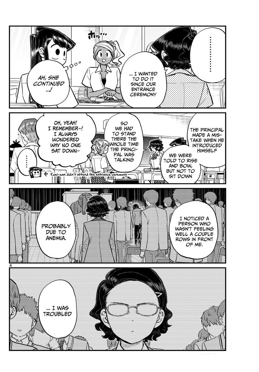 Komi-San Wa Komyushou Desu Chapter 200: The Student Council page 4 - Mangakakalot