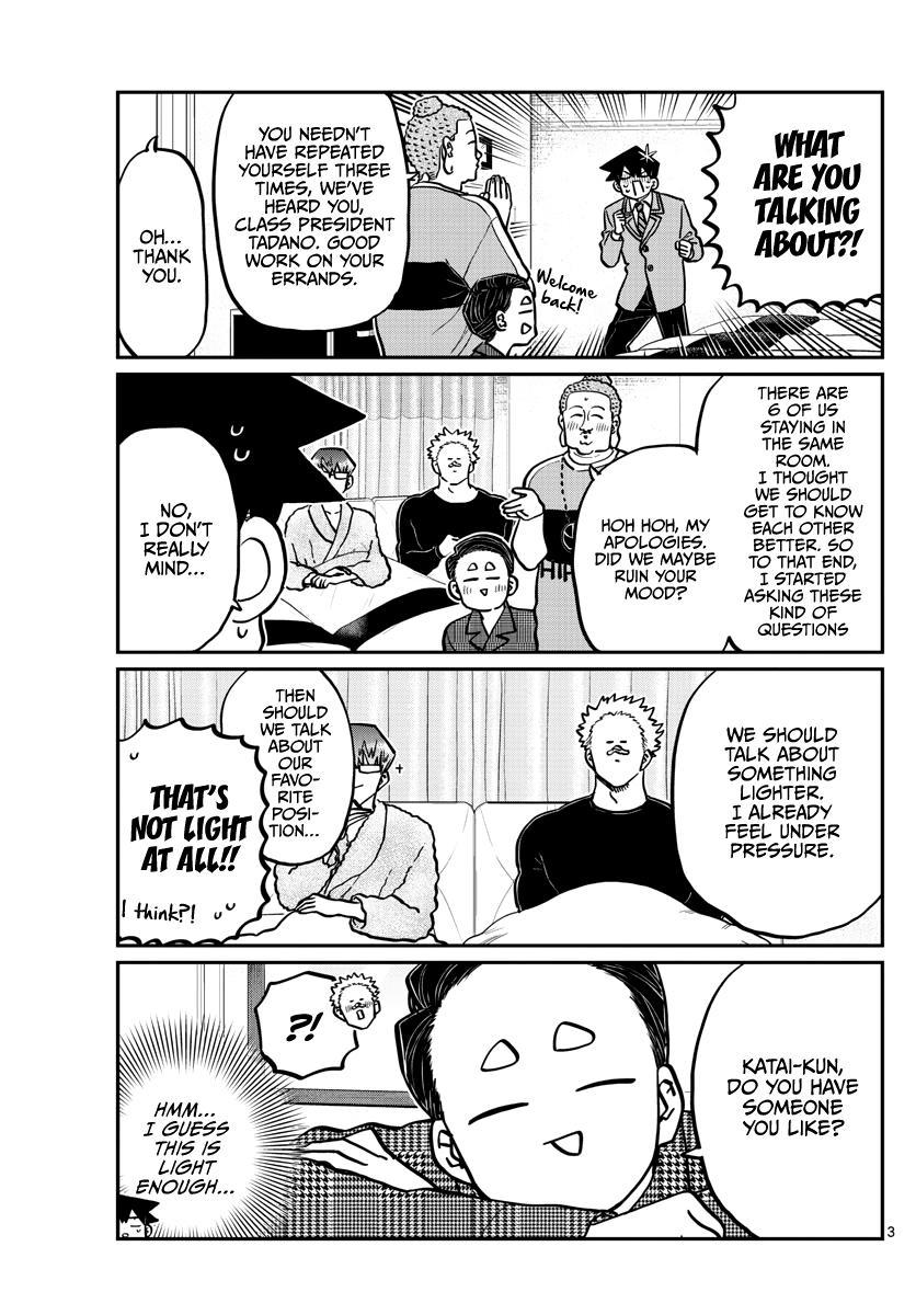 Komi-San Wa Komyushou Desu Chapter 286: Boy's Room page 3 - Mangakakalot