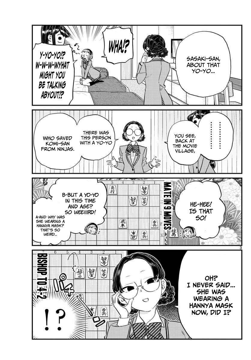 Komi-San Wa Komyushou Desu Vol.8 Chapter 111: Yo-Yo Hannya page 3 - Mangakakalot