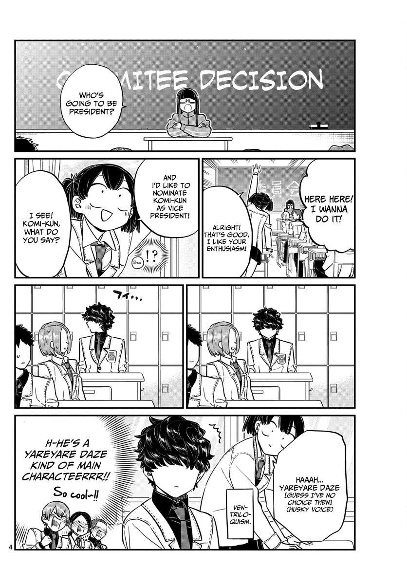 Komi-San Wa Komyushou Desu Vol.10 Chapter 143: Soccer page 4 - Mangakakalot