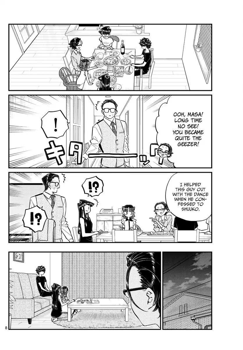 Komi-San Wa Komyushou Desu Vol.13 Chapter 177: Goodbye, Rei-Chan page 8 - Mangakakalot