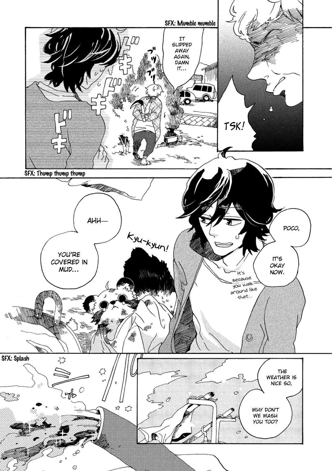 Udon No Kuni No Kin'iro Kemari Vol.1 Chapter 3: Kotoden page 7 - Mangakakalots.com