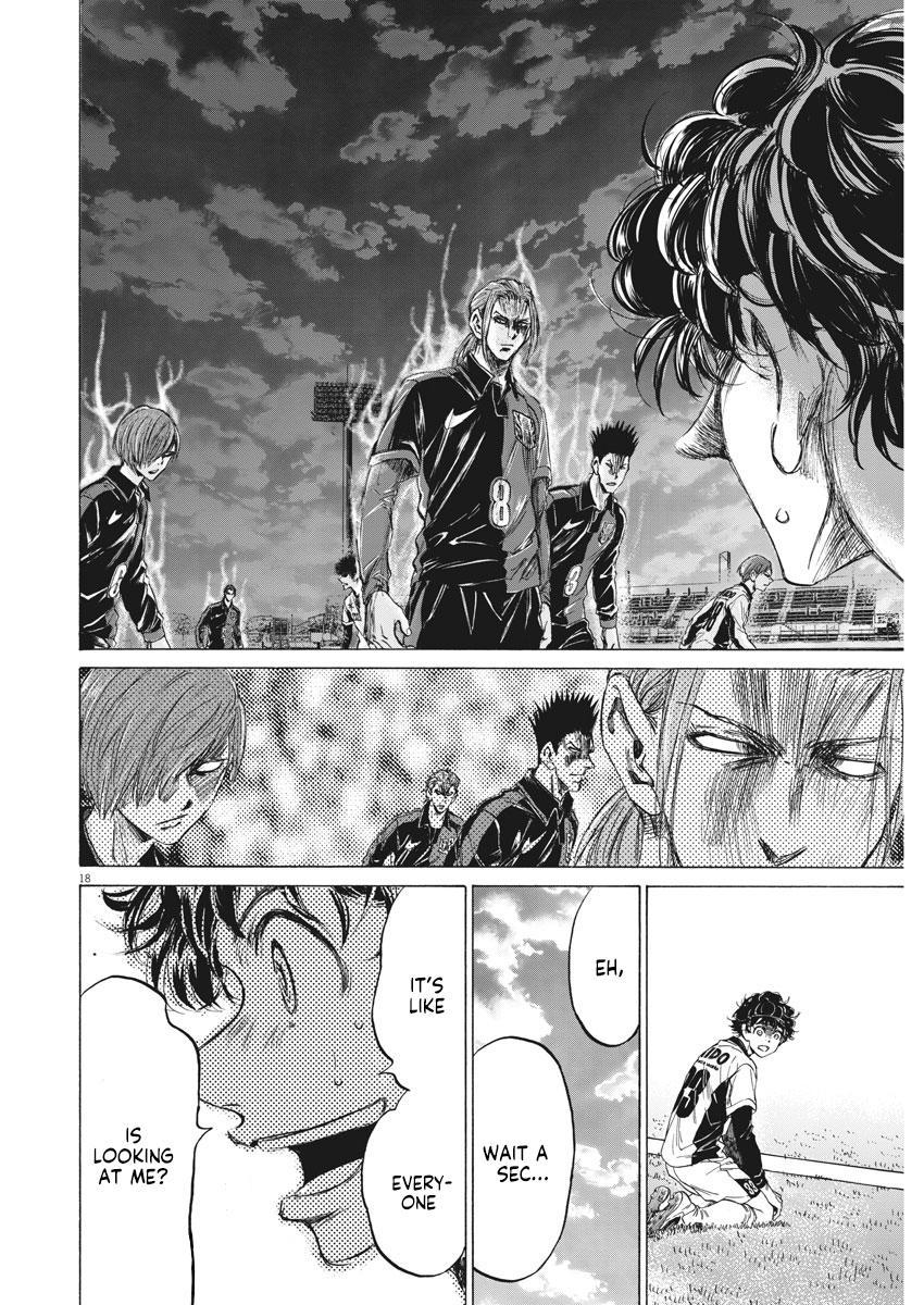 Ao Ashi Vol.23 Chapter 235: Dynamic Right page 19 - Mangakakalots.com