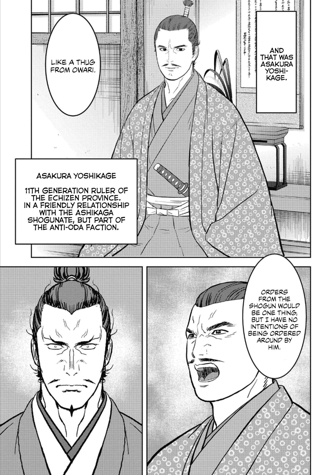 Sengoku Komachi Kurou Tan! Chapter 42 page 8 - Mangakakalots.com