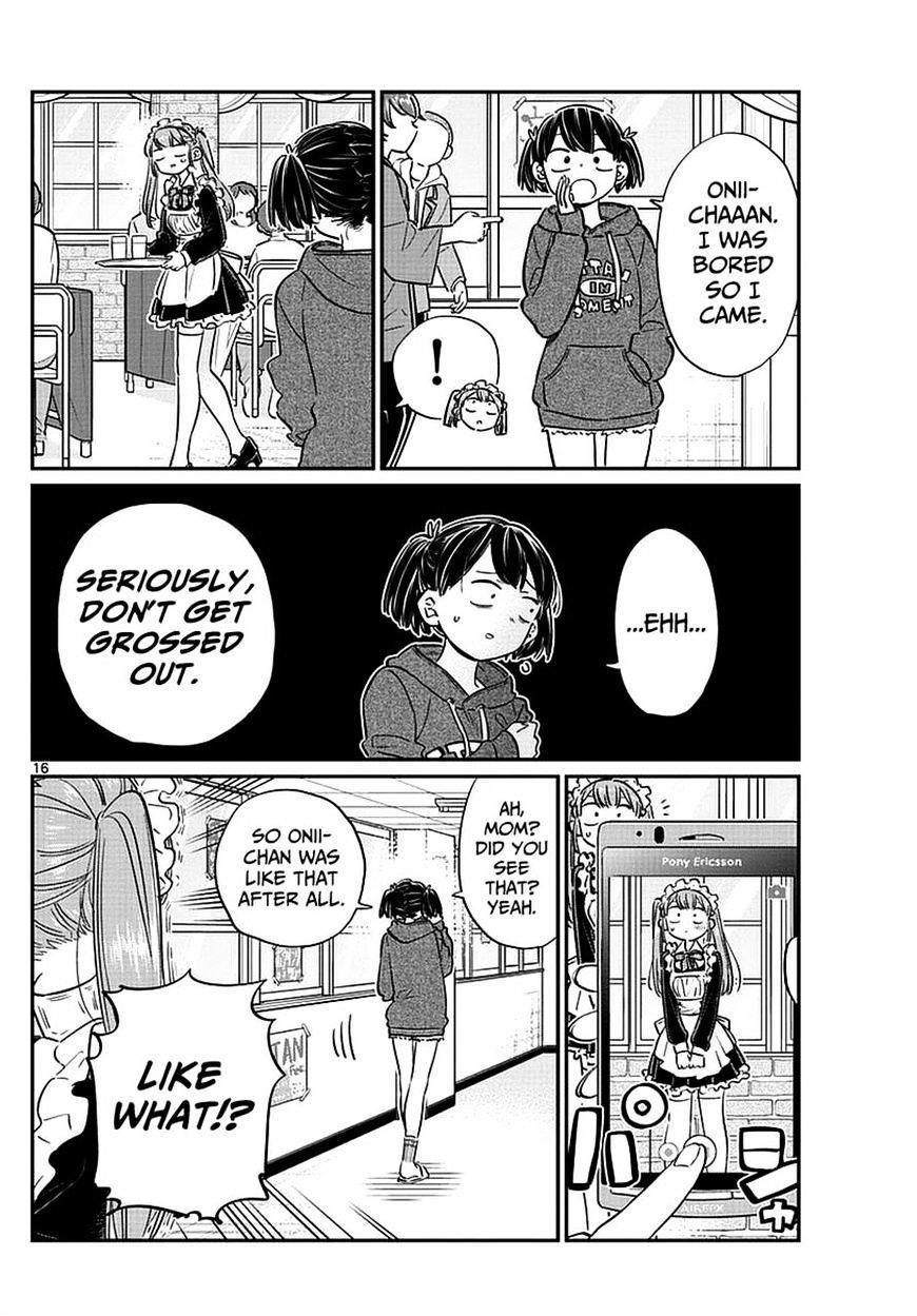 Komi-San Wa Komyushou Desu Vol.5 Chapter 68: Tadano-Kun Is A Maid Too page 5 - Mangakakalot