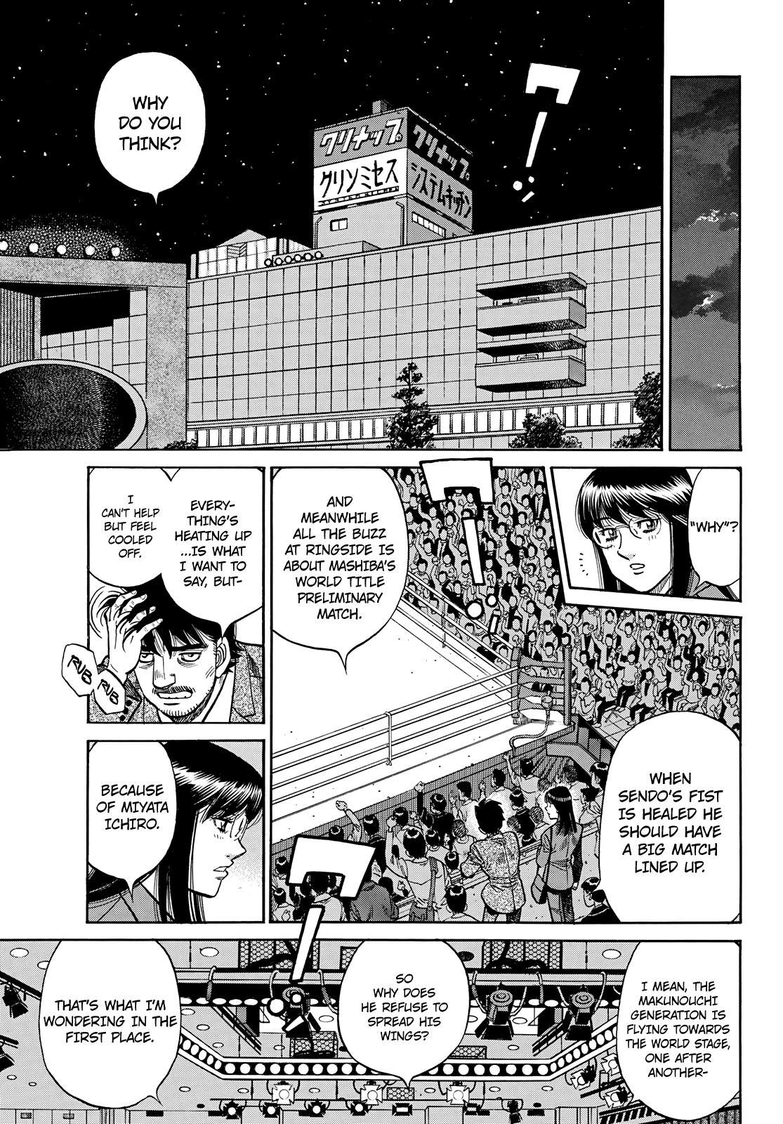Hajime No Ippo Chapter 1351: The Makunouchi Generation page 8 - Mangakakalots.com