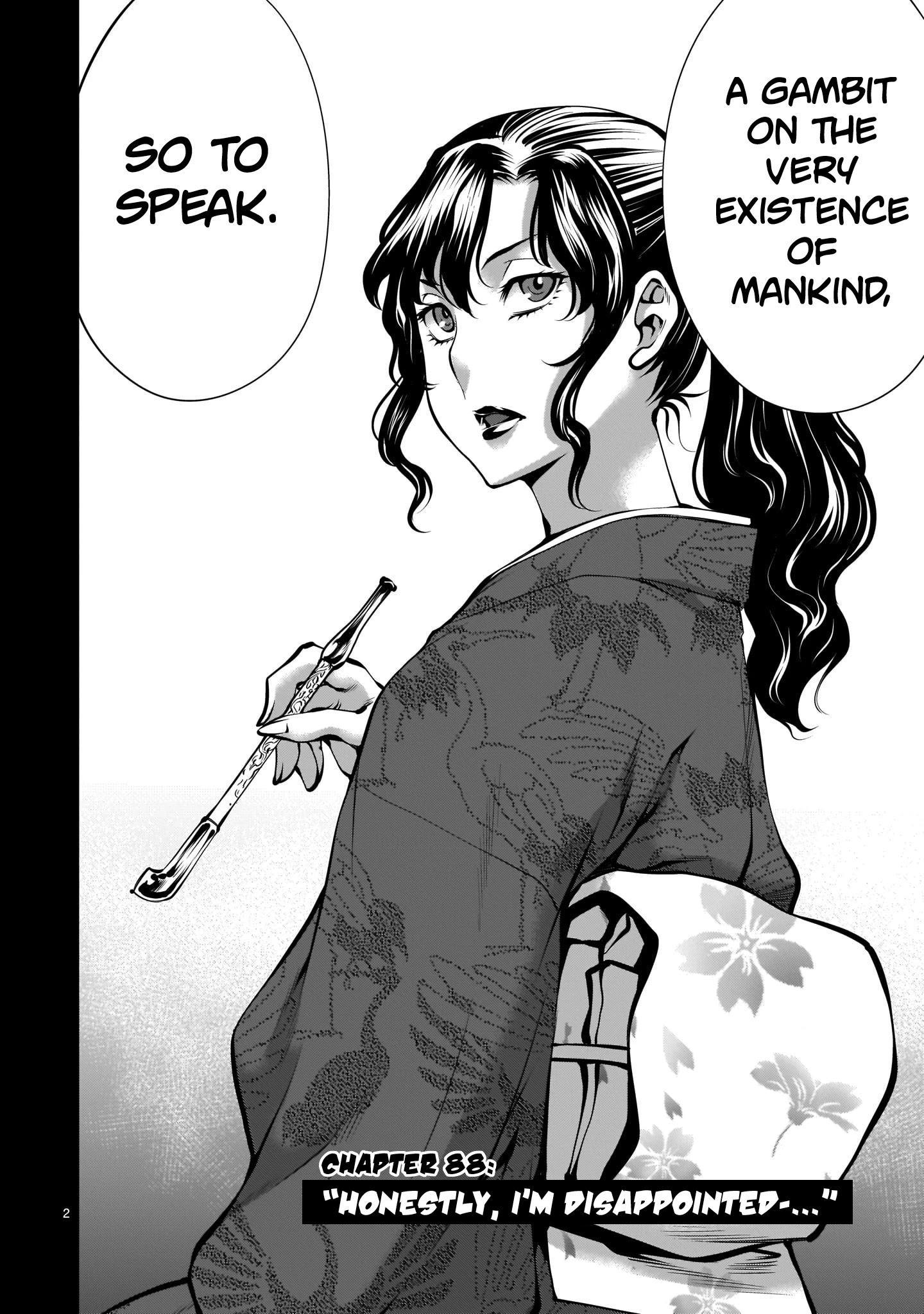 "Killing Bites Chapter 88: ""honestly, I'm Disappointed..."" page 2 - Mangakakalots.com"